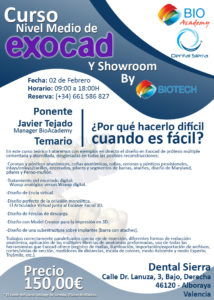 Curso nivel Medio de Exocad© (Valencia) @ Valencia | Comunidad Valenciana | España
