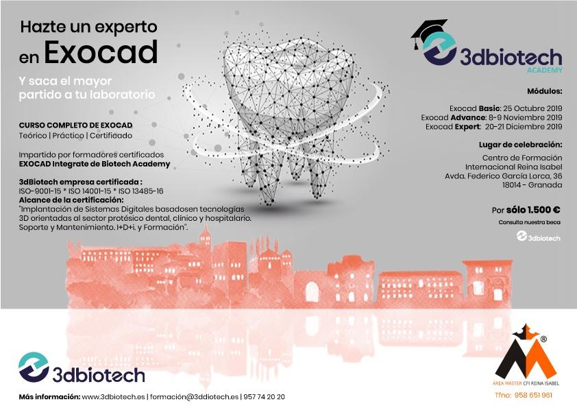 Curso Basic Exocad® | 25 de Octubre (Granada) @ CFI Reina isabel