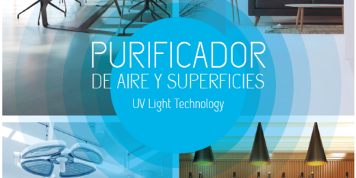 Purificador de Aire y superficie