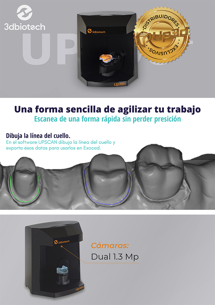 PDF Escáner UP300+   UP3D